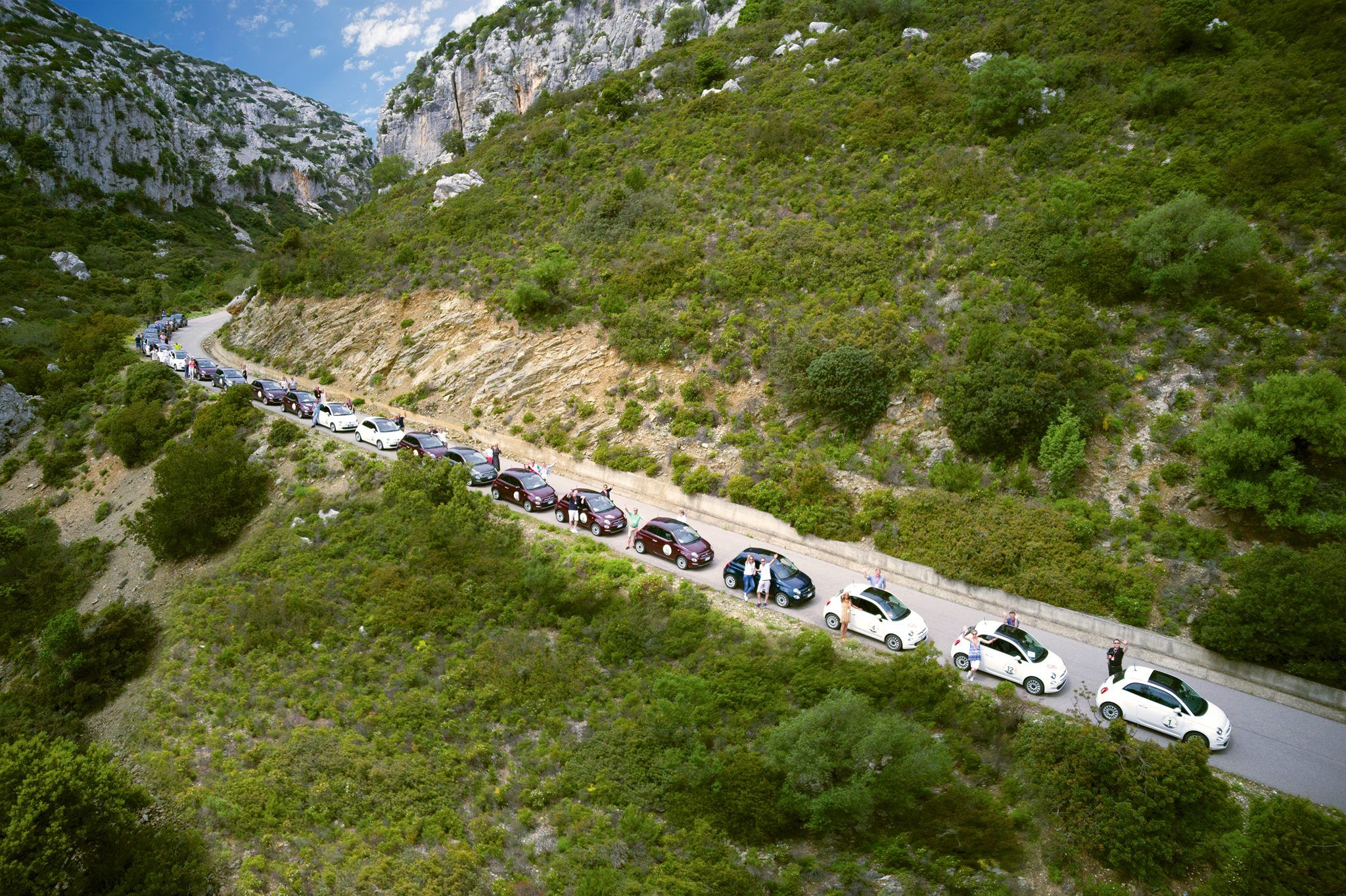 Rental Rally in Sardinië